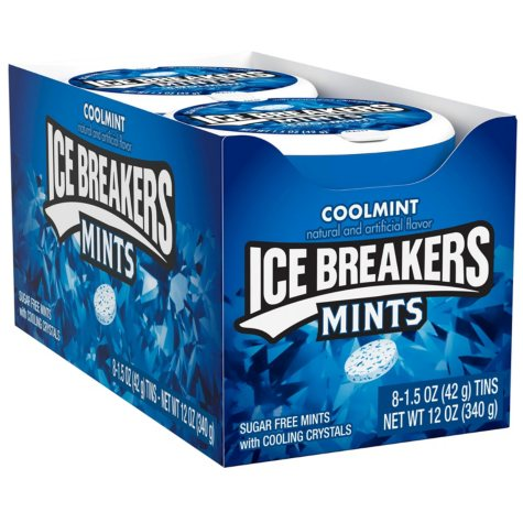 Ice Breakers Mints Coolmint (1.5 oz., 8 pks.)