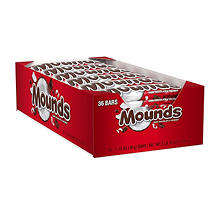 Mounds Candy Bars (1.75 oz., 36 ct.)