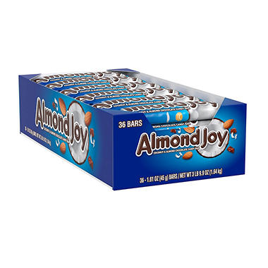 ALMOND JOY Candy Bars (1.61 oz., 36 ct.)