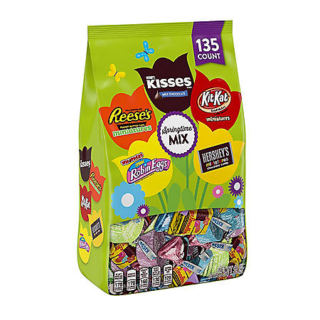 Hershey Springtime Assortment (40 oz., 135 ct.)
