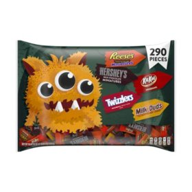 Hershey's Halloween Candy Assortment (90.65 oz., 290 ct.)