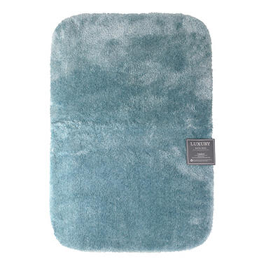 Lux Bath Rug - Blue