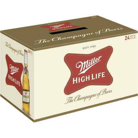 Miller High Life (12 fl. oz. bottle, 24 pk.)