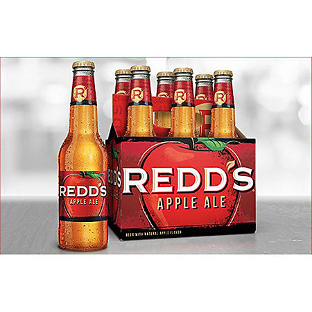 REDD'S APPLE ALE 6 / 12 OZ BOTTLES