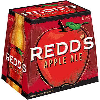REDD'S APPLE ALE 12 / 12 OZ BOTTLES