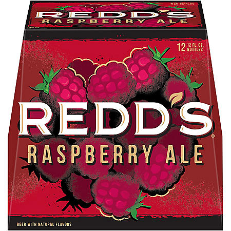 REDDS STRAWBERRY ALE 12 / 12 OZ BOTTLES
