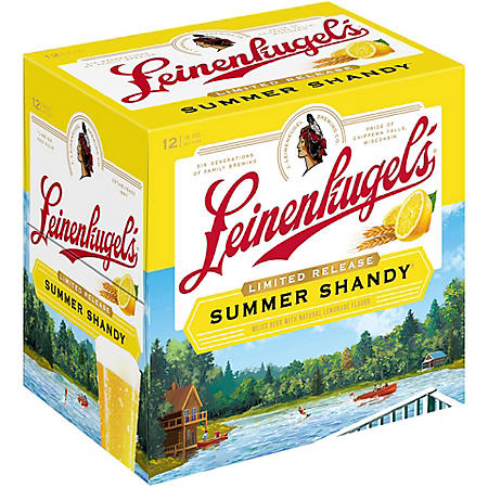 Leinenkugel's Summer Shandy (12 fl. oz. bottle, 12 pk.)