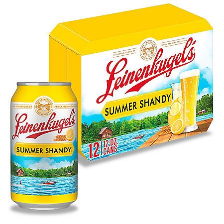 Leinenkugel's Summer Shandy (12 fl. oz. can, 12 pk.)
