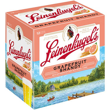 Leinenkugel's Grapefruit Shandy (12 fl. oz. bottle, 12 pk.)