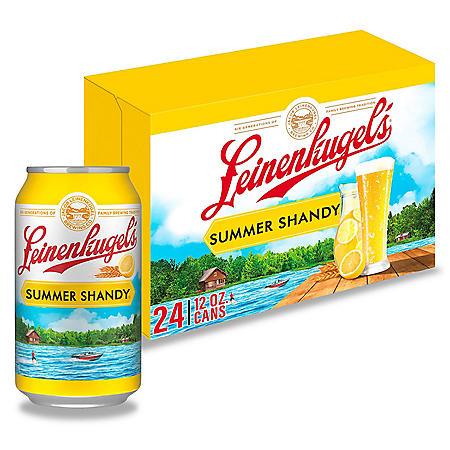 Leinenkugel's Summer Shandy (12 fl. oz. can, 24 pk.)