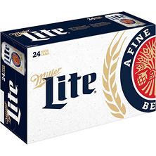Miller Lite Beer (10 fl. oz. can, 24 pk.)