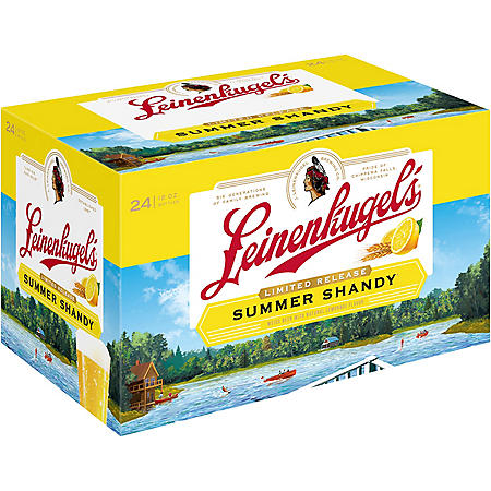 LEINENKUGEL  SHANDY 24 / 12 OZ BOTTLES