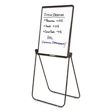 Quartet - Ultima Presentation Easel, 27 x 34, White Surface -  Black Frame