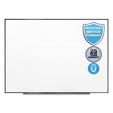 Quartet Fusion Nano Clean Magnetic Whiteboard, 72
