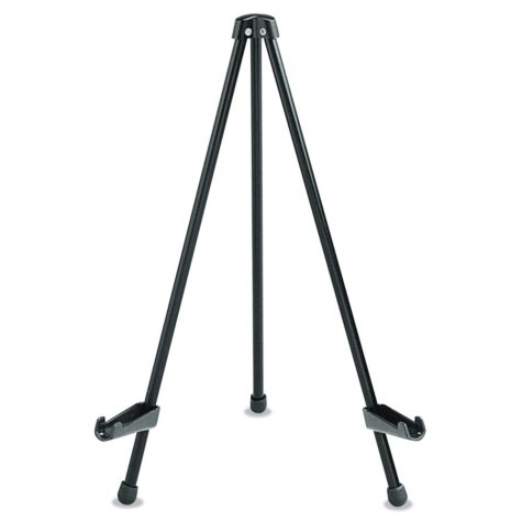 "Quartet - Tabletop Instant Easel, 14"" High, Steel -  Black"