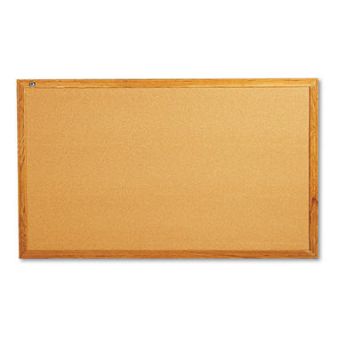 Quartet Classic Cork Bulletin Board, 60