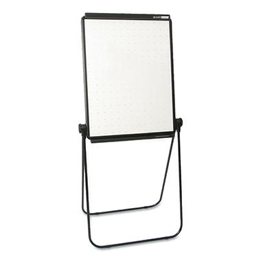 Quartet - Unimate Total Erase Presentation Easel, 26 x 34, White Surface -  Black Frame