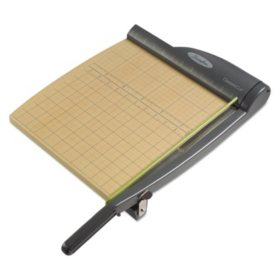 "Swingline - ClassicCut Pro Paper Trimmer, 15 Sheets, Metal/Wood Composite Base -  12"" x 12"""