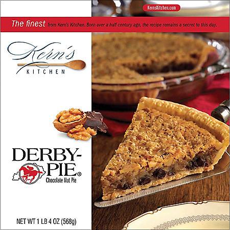 Kern's Derby-Pie Chocolate Nut Pie, Frozen (20 oz.)