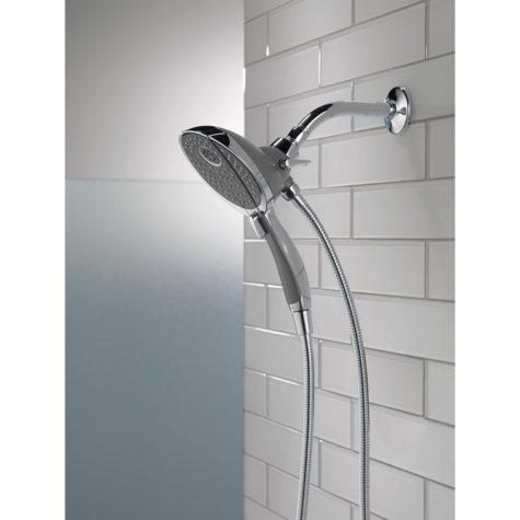 Delta 5-Setting Hand Shower and Shower Head Combo (Chrome)