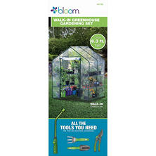 Bloom Greenhouse and Tool Gift Set