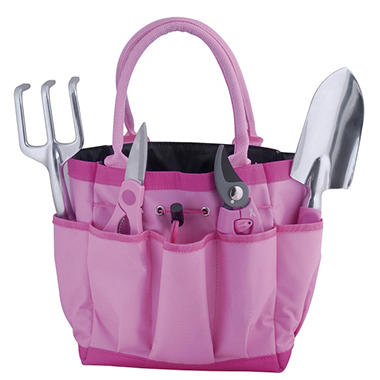 Gentil Bond Pink Garden Tool Set   7 Pc.