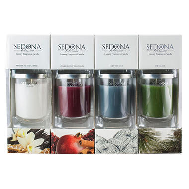 Sedona Botanica Luxury Fragrance Candle (4 pk.)