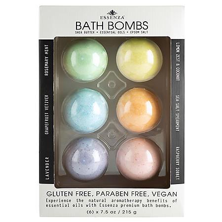 Essenza Premium Aromatherapy Bath Bombs (7.9 oz., 6 pk.)