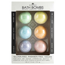 Essenza Premium Aromatherapy Bath Bombs (7.9 oz., 6 pk.)