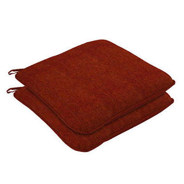 Seat Cushion w/Welt - Red - 2 pk.