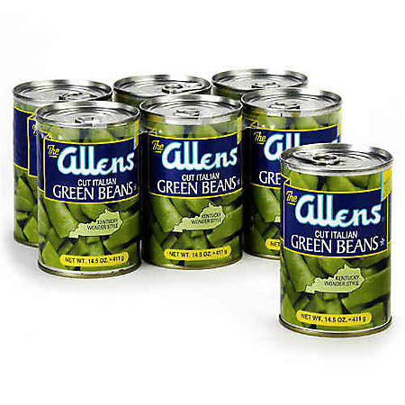 The Allens Cut Italian Green Beans (14.5 oz., 6 ct.)