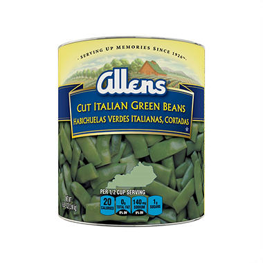 The Allens Cut Italian Green Beans (104 oz.)