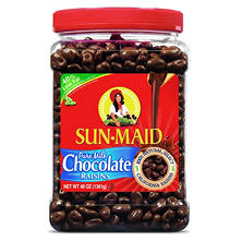 Sun-maid Chocolate Covered Rasins - 48 oz.