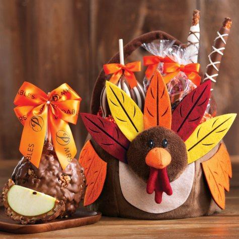 Mrs. Prindables Turkey Treats Gift Basket
