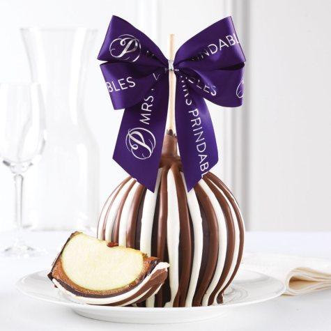 Mrs Prindables Triple Chocolate Jumbo Caramel Apple