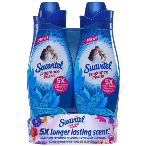 Suavitel Fragrance Pearls, Field Flowers, In-wash, Scent Boosters (21.5 oz., 2 pk.)