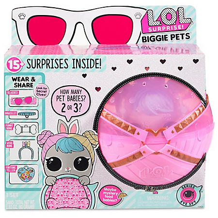 L.O.L. Surprise! Biggie Pets - Mini Backpack & Accessories