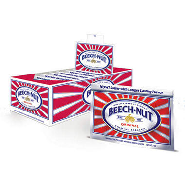 Beech-Nut Chewing Tobacco (12 pouches)