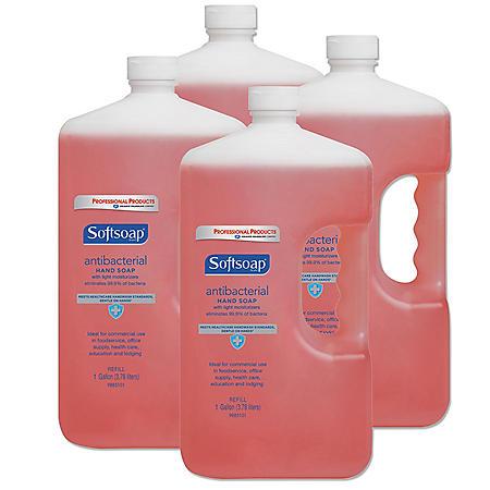 Softsoap Hand Soap Refill, Antibacterial (1 gallon, 4 pk.)