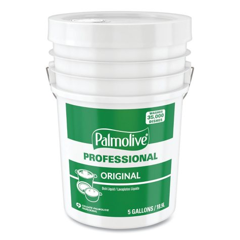 Palmolive Professional Dishwashing Liquid, Original Scent, (5 gallon)