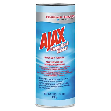 Ajax - Oxygen Bleach Powder Cleanser, 21oz Can -  24/Carton
