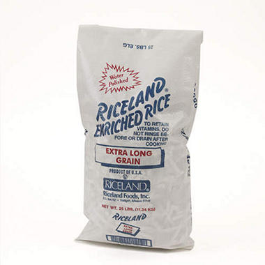 Riceland Extra Long Grain - 25 lb.