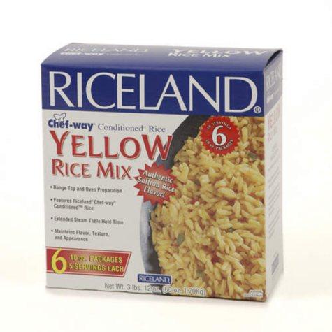 Riceland Yellow Rice Mix - 6/10 oz.