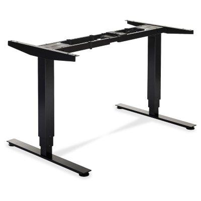 Lorell 50 Electric HeightAdjustable SitStand Desk Base Black