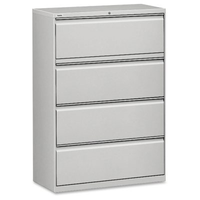 Hirsh 36  x 52½u201d 4-Drawer Lateral File Cabinet Select Color  sc 1 st  Samu0027s Club & File Cabinets - Samu0027s Club