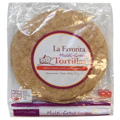 La Favorita Multi-Grain Whole Wheat Tortillas (16 oz., 2 pk.)