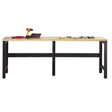 Edsal Silvervein 7.5' Workbench