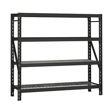 Edsal Heavy-Duty 4-Level Steel Shelving