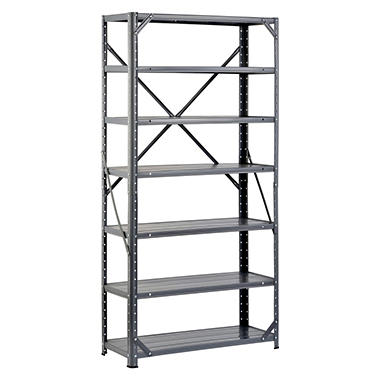 Edsal Hom-E-Quip Steel Canning Shelving - Gray