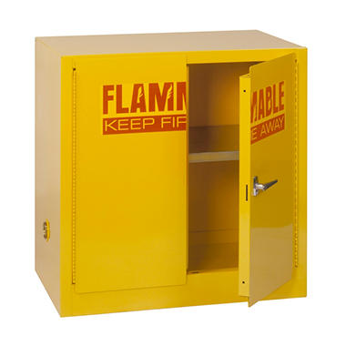 EdsalSteel Compact Flammable Safety Cabinet - 35
